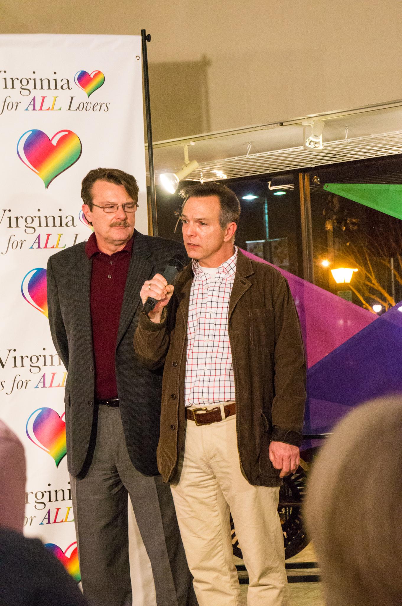 Tony London and Tim Bostic