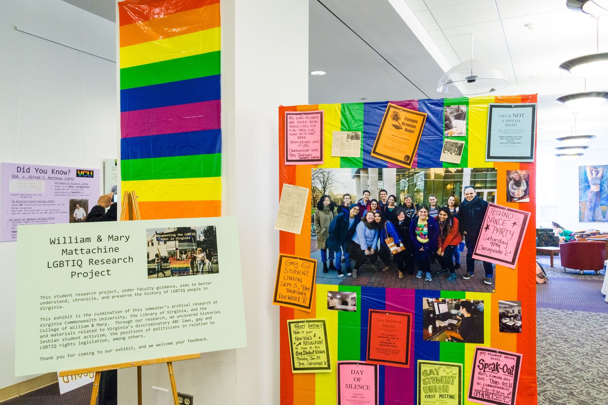 William & Mary Undergrads Delve Into Archives to Help Document Virginia's LGBTIQ Past